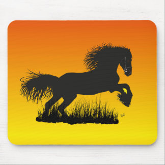 Mustang for horse lover Mousepad