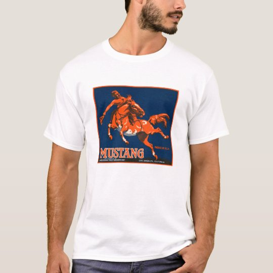 Mustang Fruit Crate Label Shirt