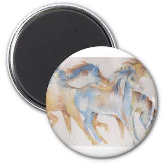 Mustang Fury Magnet