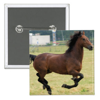 Mustang Galloping Button