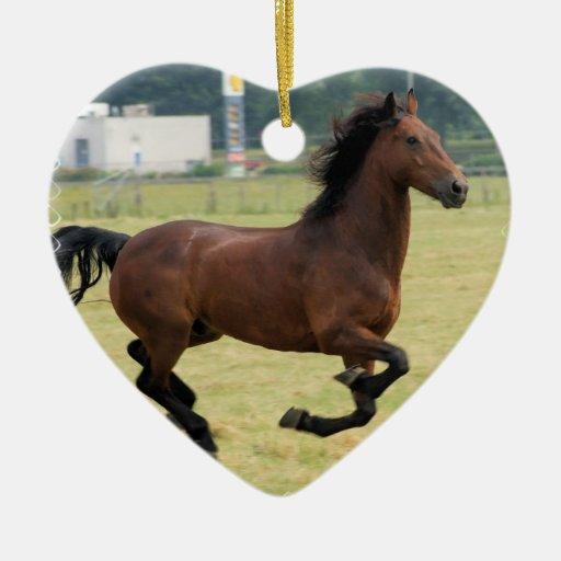 Mustang Galloping Ornaments
