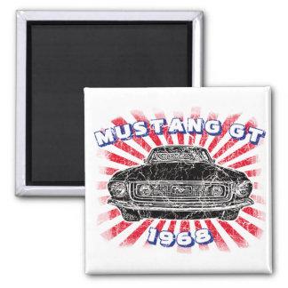 Mustang GT 1968 Magnet