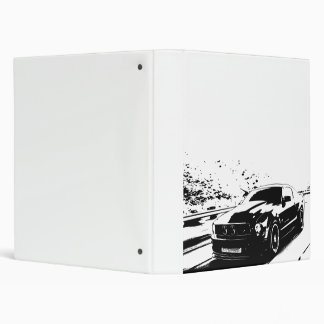 Mustang GT Coupe 3 Ring Binder