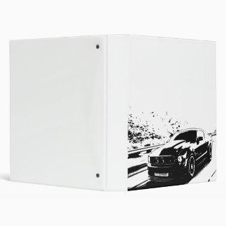 Mustang GT Coupe Vinyl Binders