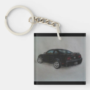Mustang Gt Keychain