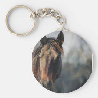 Mustang Horse Keychain