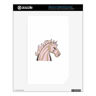 MUSTANG HORSE SKINS FOR THE NOOK COLOR