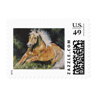 Mustang Horse Stamp postage