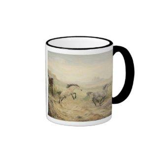 Mustang Horses Mug