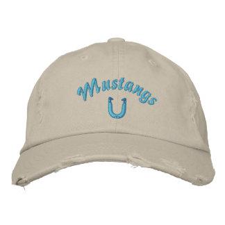 Mustang Horshoes Hat Baseball Cap