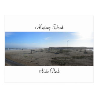 Mustang Island State Park Postcard