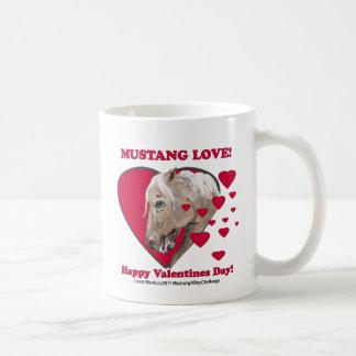 Mustang Love Coffee Mugs