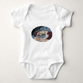 Mustang Love Customizable Horse Design Baby Bodysuit