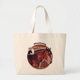 Mustang: Made in America  Davy Greasewood Tote Bag