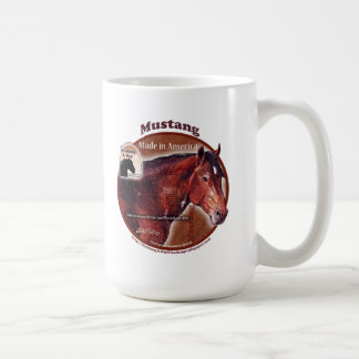 Mustang: Made in America Davy Greaswood Coffee Mugs