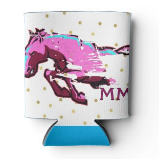 Mustang Mamas Can Coozie
