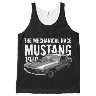 Mustang mechanical power All-Over-Print tank top