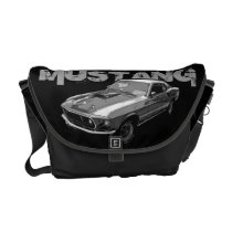 Mustang mechanical power courier bag