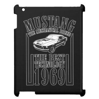 Mustang mechanical power iPad covers
