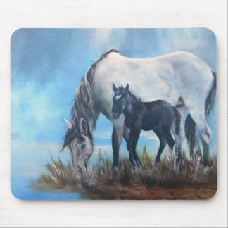 Mustang Morning Mouse Pad