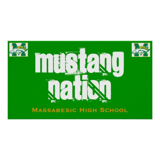Mustang Nation Poster