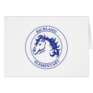 Mustang Note Card