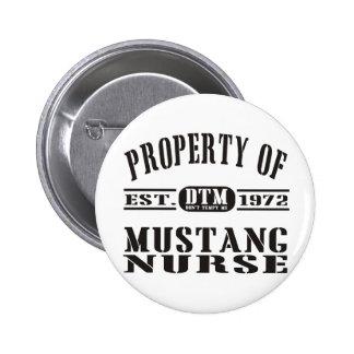 Mustang Nurse Button
