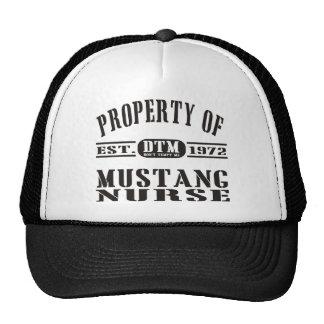Mustang Nurse Trucker Hat