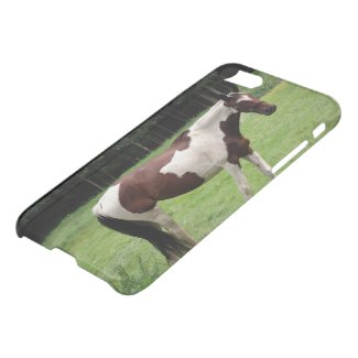 Mustang on Pastur iPhone 7 Clearly™ Deflector Case