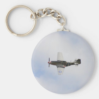 Mustang P51 Keychain