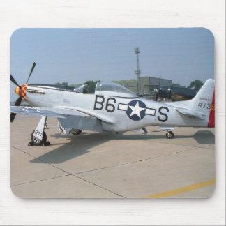 Mustang P-51D Aircraft Mouse Pad