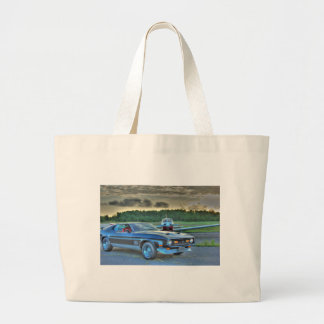 Mustang Plane Car HDR Cool Photo Picture Gift Tote Bags