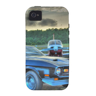 Mustang Plane Car HDR Cool Photo Picture Gift iPhone 4 Case