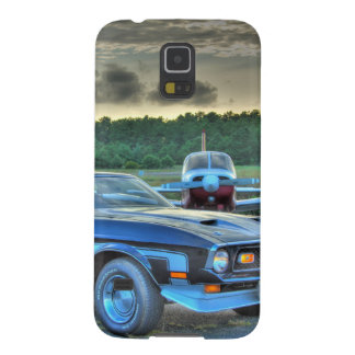 Mustang Plane Car HDR Cool Photo Picture Gift Galaxy S5 Cover