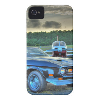 Mustang Plane Car HDR Cool Photo Picture Gift iPhone 4 Cover