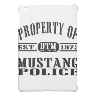 Mustang Police Case For The iPad Mini