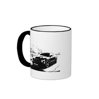 Mustang Rolling Shot Ringer Mug