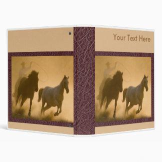 Mustang Roundup binder