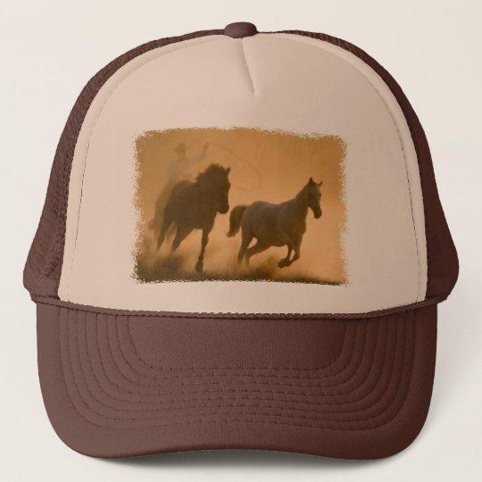 Mustang Roundup Trucker Hat