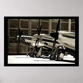 Mustang Row Poster