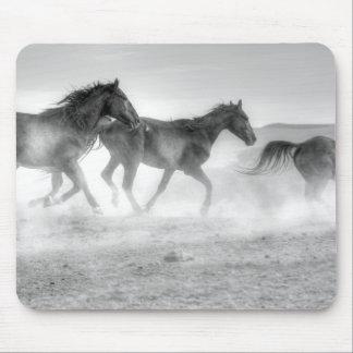 Mustang Run Mouse Pad