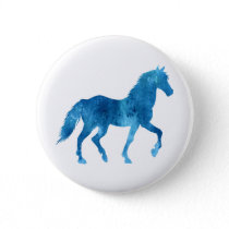 Mustang  silhouette - Choose background color Button