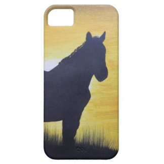Mustang Silouette iPhone SE/5/5s Case