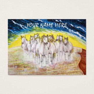 Mustang Spirit Business Card
