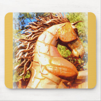 mustang stallion mouse pad