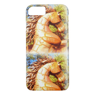 mustang stallions iPhone 8/7 case