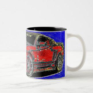 Mustang Two-Tone Coffee Mug