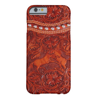 mustang western leather iPhone 6 case