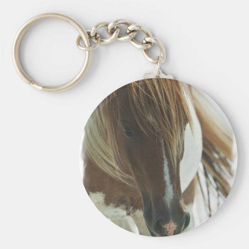 Mustang Wild Horse Keychain