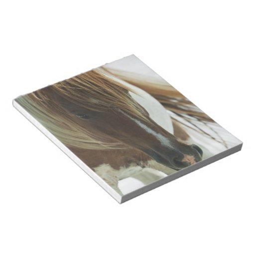 Mustang Wild Horse  Notepad